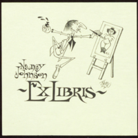 Ex Libris Nancy Johnson