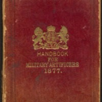 Handbook for military artificers