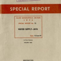 Water Supply - Java : Volume 2