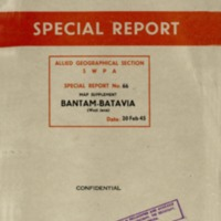 Bantam-Batavia (West Java) : Map supplement