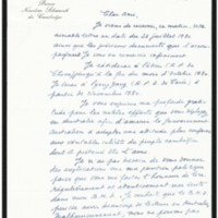 A letter from Prince Norodom Sihanouk to Ambassador Jeldres advising of his next moves in his diplomatic campaign to obtain Vietnam's withdrawl from Cambodia