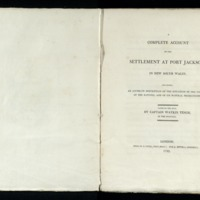 A complete account of the settlement at Port Jackson, in New South Wales : including an accurate description of the situation of the colony; of the natives; and of its natural productions