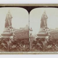 Queen's statue, Macquarie Street, Sydney, N.S.W.
