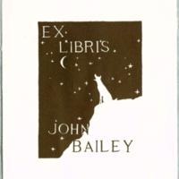 Ex libris : John Bailey