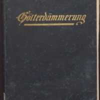 Götterdämmerung / by Richard Wagner ; vocal score with piano accompaniment by R. Kleinmichel ; with original German text and English translation edited by Henry T. Finck