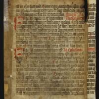Fragment no. 29 - Bischoff Manuscript Collection