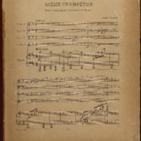 Scene champetre : (viola violoncelle et contrebasse ad libitum) / Guido Papini