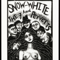 Ex Libris Ed Jewell (Snow-White and the 7 Perverts)