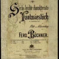 Sechs leichte charakterische Fantasiestücke im russischen Styl : für Flöte mit Klavierbegleitung. Auf dem Lande, Op. 34
