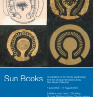 Sun Books: an exhibition of Sun Books publications from the Monash University Library Rare Books Collection 1 June - 31 August 2005