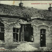 Armentieres: bombardee - Eteablissement St-Joseph