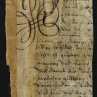 Fragment no. 22 - Bischoff Manuscript Collection