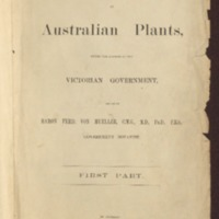 Educational collections of Australian plants, under the auspices of the Victorian government - Portfolio Two