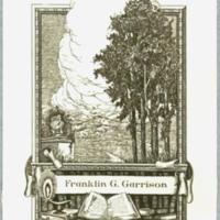 Ex libris : Franklin G. Garrison