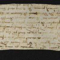 Fragment no. 25 - Bischoff Manuscript Collection