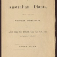 Educational collections of Australian plants, under the auspices of the Victorian government - Portfolio One