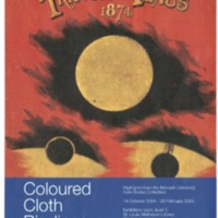 Coloured cloth bindings: highlights from the Monash University music collections 14 October 2004 - 28 February 2005