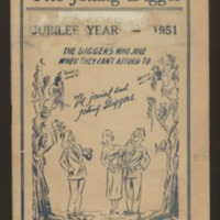The joking digger :  the diggers' book / compiled by Gnr. D. A. Williams, 3363, 1st D. A. C. , 110th Howitzer Batt. , 1914-1918