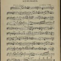 Serenade : for violin and piano / Gabriel Pierne