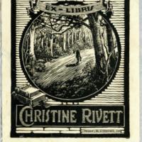 Ex libris : Christine Rivett