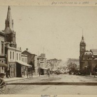 Collins Street : pre-cable cars to c. 1800