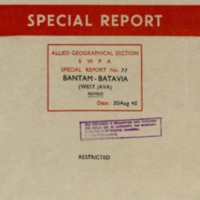 Bantam-Batavia (West Java) Revised