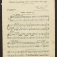 Fantasia on British sea songs [music] / arranged by George L. Zalva from the original score by Henry Wood