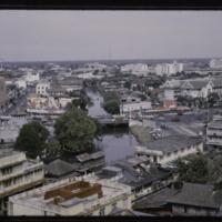 Bangkok as seen from the palace monastary