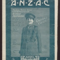 ANZAC (Australian-New Zealand Army Corps) / words & music by Tom Armstrong