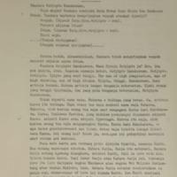 Amanat PJM Presiden Sukarno pada Pelantikan Duta Besar Luar Biasa dan Berkuasa Penuh Republik Indonesia untuk Bulgaria, Insp. Djen. Sutjipto Danukusumo, Istana Bogor, 18 Desember 1965