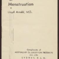 Health Facts on Menstruation