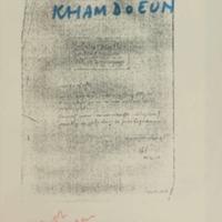 Confession of Toch Kham Doeun, alias Tauch