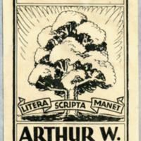 Ex libris : Arthur W. Thomson