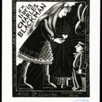 Ex Libris Charles Blackman (Alice Loves Charles)
