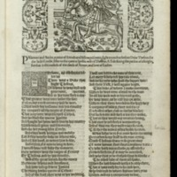 The works of our ancient and learned English poet, Geffrey Chavcer [i.e. Geoffrey Chaucer] : newly printed ...
