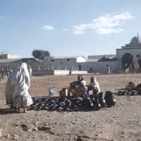 Pottery vendors at Asmara