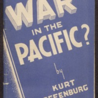 War in the Pacific?