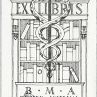 Ex libris : B.M.A. Western Australia