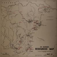 Resources map: S E Borneo