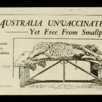 Australia unvaccinated yet free from smallpox: an eighteenth century superstition