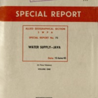 Water supply - Java : Volume 1