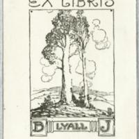 Ex libris : B. J. Lyall