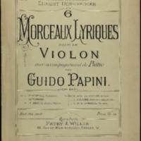 Reve de bonheur : melodie, op. 64, no. 4 / Guido Papini