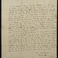 [Letter] 1713 April 30, London [to] William Diaper, Hampshire