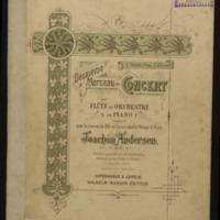 Deuxieme morceau de concert, pour flute et orchestre ou piano, op. 61 / par Joachim Andersen.