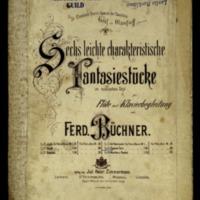 Sechs leichte charakterische Fantasiestücke im russischen Styl : für Flöte mit Klavierbegleitung. Zigeuner-Tanz, Op. 35