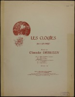 Les cloches = The bells / Claude Debussy, words by Paul Charles Joseph Bourget, translated by Nita Cox
