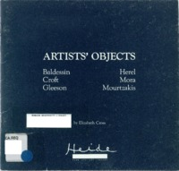Artists' objects