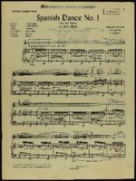 Spanish dance no. 1 : from the opera La vida breve / Manuel de Falla ; arranged by S. Chapelier