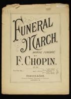 Funeral march, op. 35 = Marche funebre / Frederic Chopin